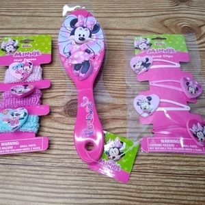 Minnie Mouse Hair Set
